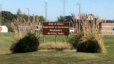 IDOC Re-Entry Center sign in Murphysboro