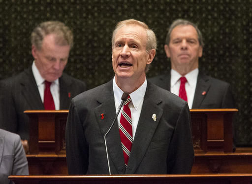 Illinois governor offers tax-hike guidance to end stalemate