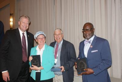 Don E. Patton honored for 30 years of service