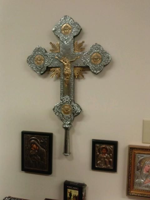 Carbondale's new Orthodox Church has historic cross
