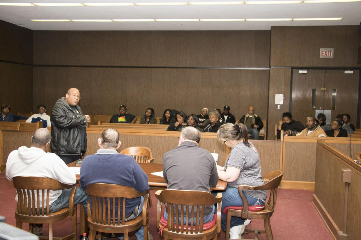 Alexander County Board meeting
