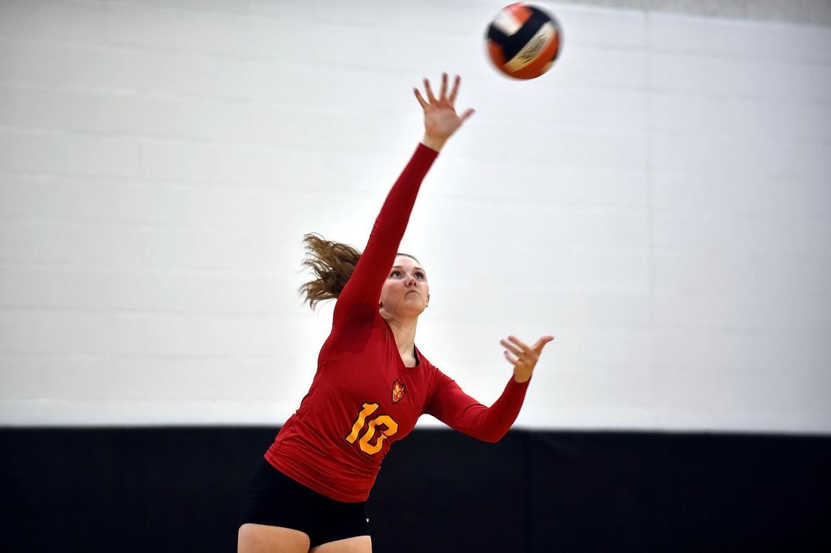 Prep Volleyball: Murphysboro defeats Herrin