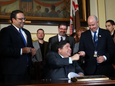 Right to Work bill signing