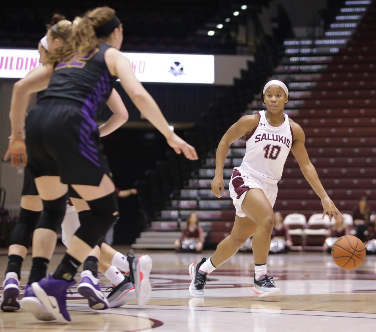 PHOTOS: UNI takes on SIU Women's Basketball