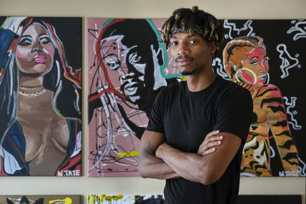 Instagram Is His Gallery Du Quoin Artist Finds Success