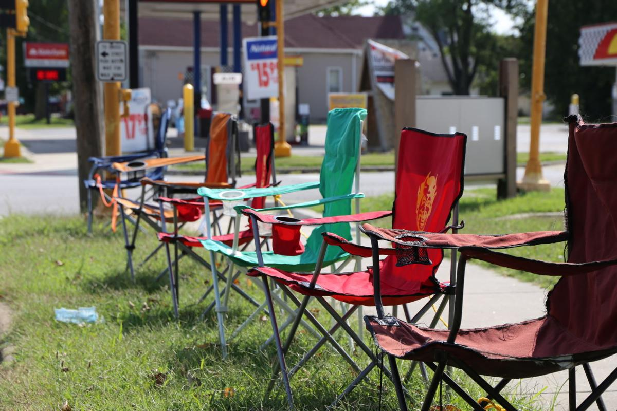 Murphysboro Apple Festival Lawn Chairs