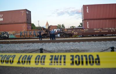 Illinois 13 reopened after train strikes pedestrian in