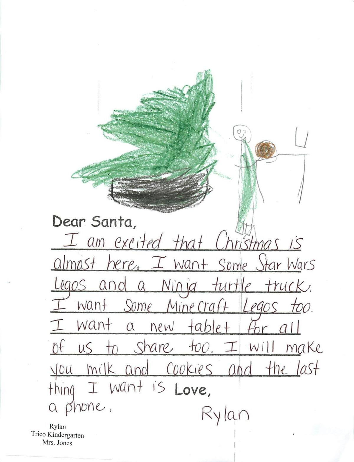 Letters to Santa 2016 | | thesouthern.com