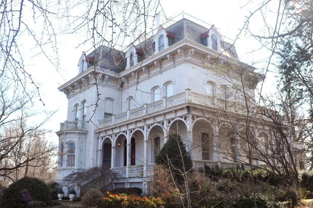 The Riverlore mansion