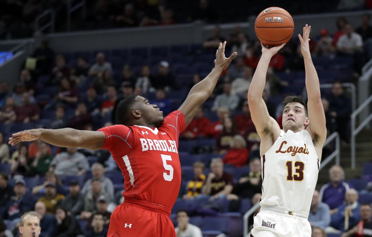 MVC Bradley Loyola Basketball