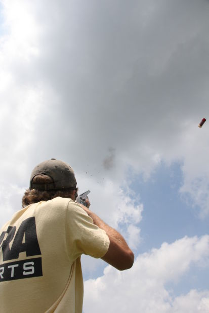 Anderson wins rodeo trapshooting title