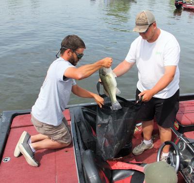 Bass Fishing   Mandrell, Stucker win Boy Scout tournament