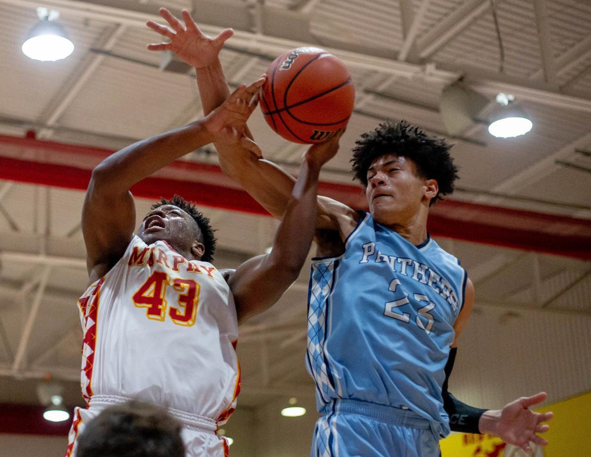 2A Boy's Basketball Regional: Pinckneyville Panthers at Murphysboro Red Devils
