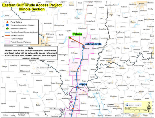 Pipeline could carry oil through Southern Illinois News