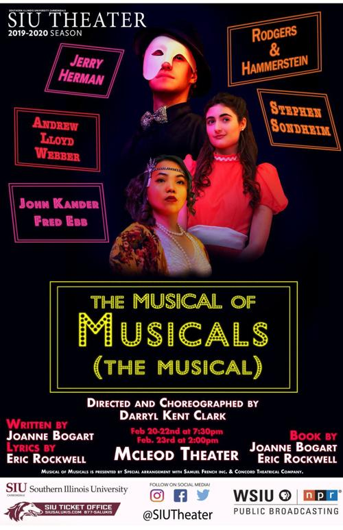 Musical of Musicals flyer