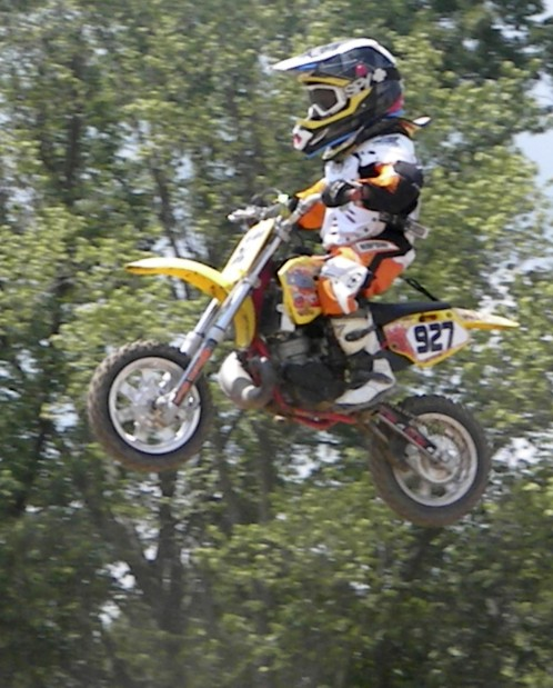 motocross 7 year olds