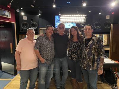 U-Foria Band in Nashville's Blackbird Studio
