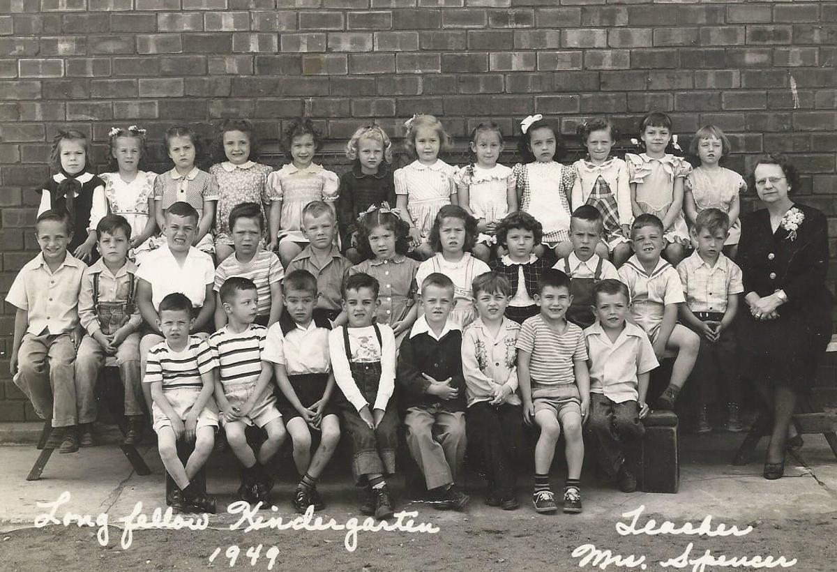 Spencer kindergarten class