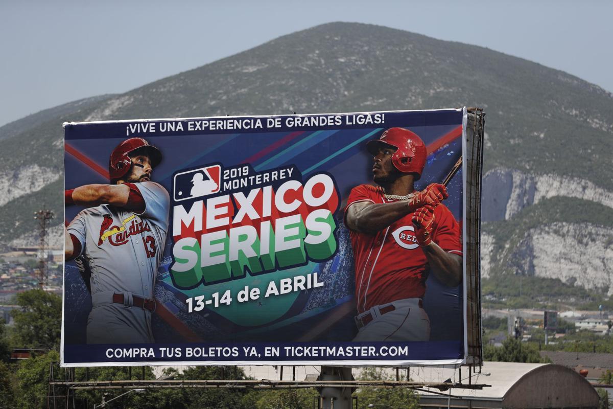 Mexico Reds Cardinals Baseball