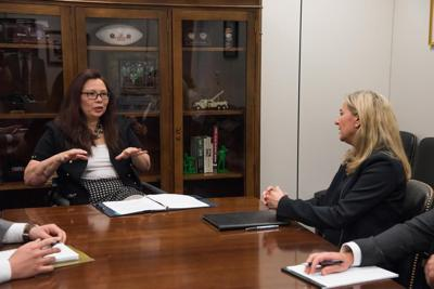 Duckworth meets with HUD inspector general nominee