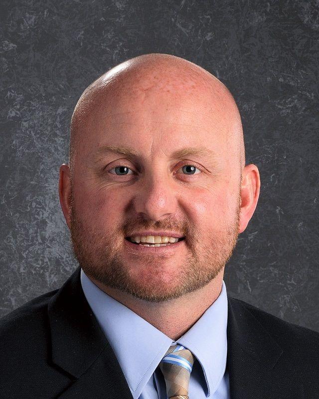 Dustin Foutch, principal of Pinckneyville Community High School