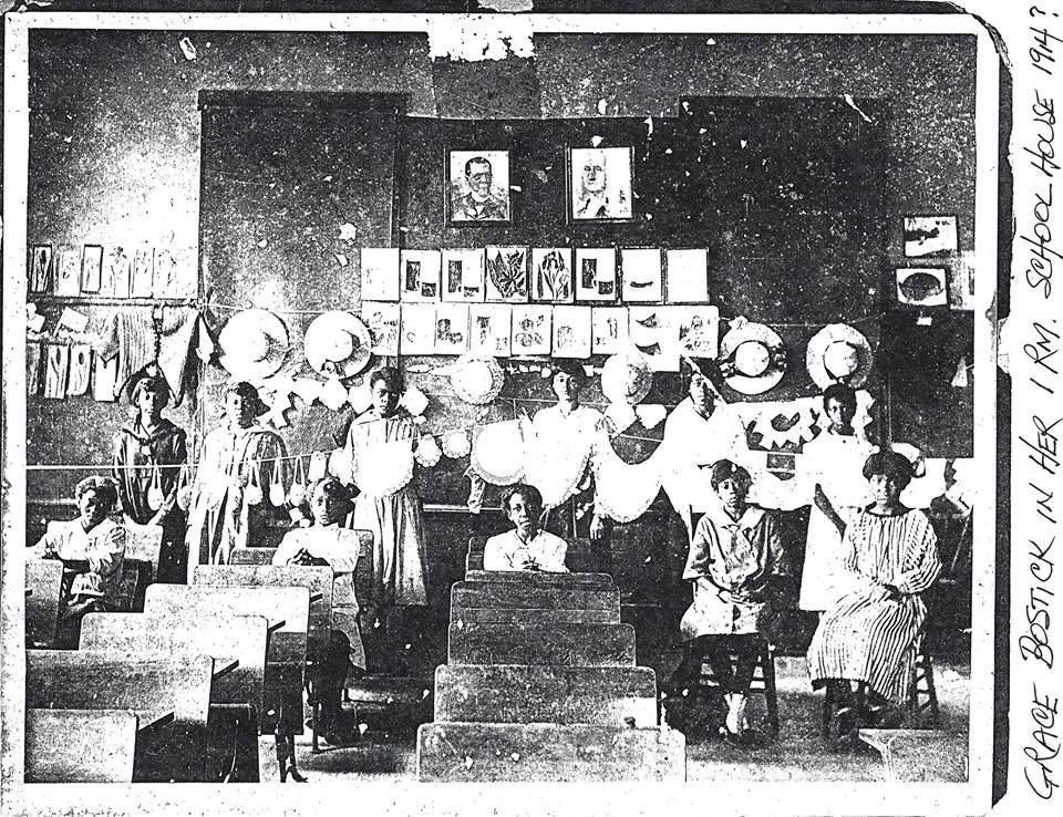 Bostick Settlement school picture