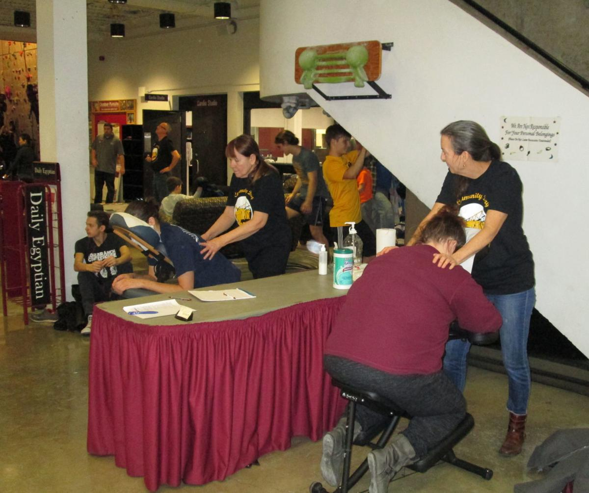 Socail Seen: Community Day at SIU Student Recreation Center