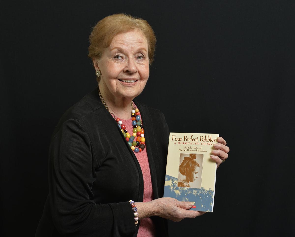 holocaust survivor shares message of 'perseverance, determination