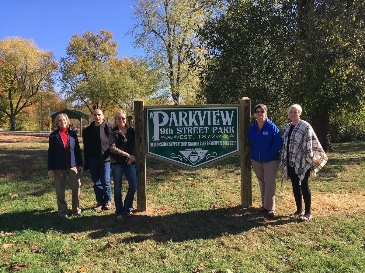 Murphysboro Park District rededicates city's 145-year-old park