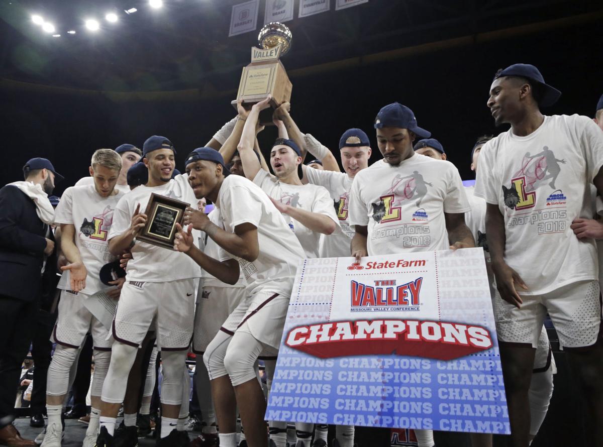 MVC Loyola Illinois St Basketball