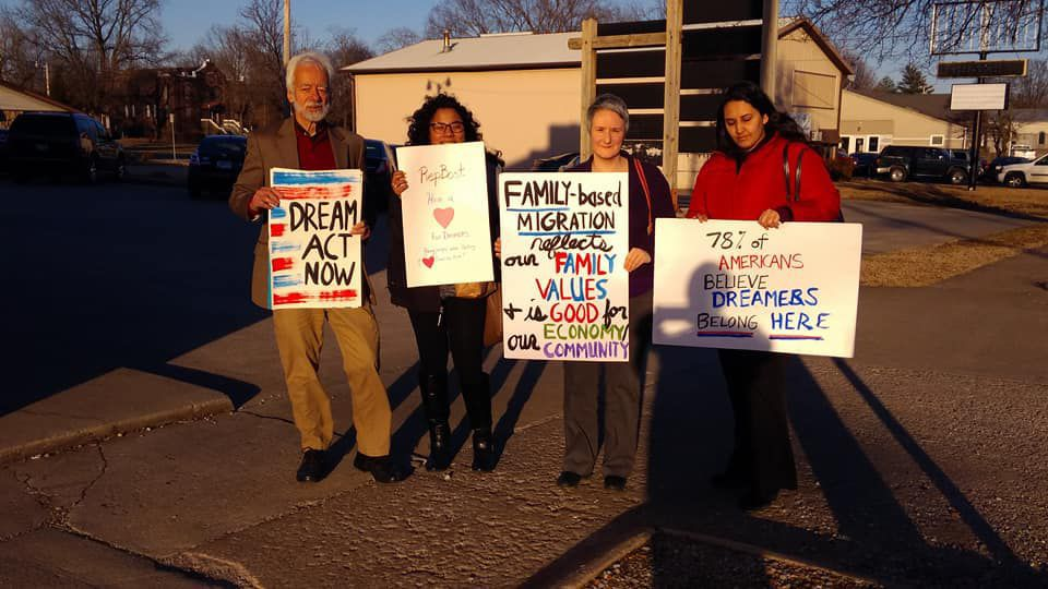 "Southern Illlinois Immigrant Rights Council asks Bost to ""have a heart"" on Dreamers"