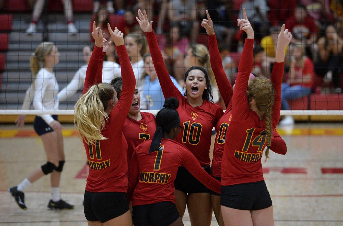 Prep Volleyball | Murphysboro avoid sweep, rallies to down