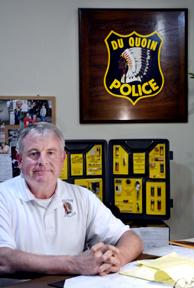 Du Quoin police chief to retire after 30 years on force