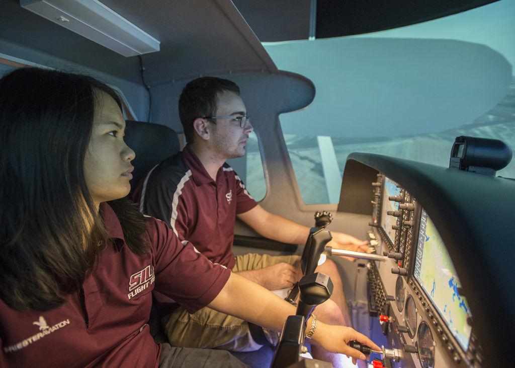 CASA Aviation Flight Flying Salukis Simulator