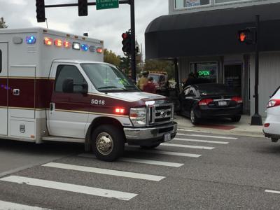 Car crash on the strip Nov 6 18