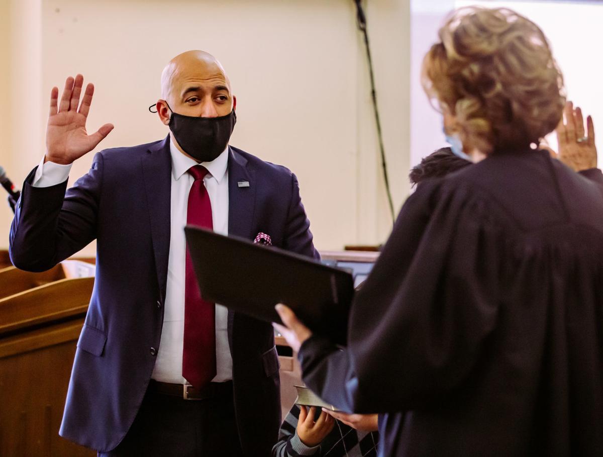 Cervantez sworn in as Jackson County State's Attorney