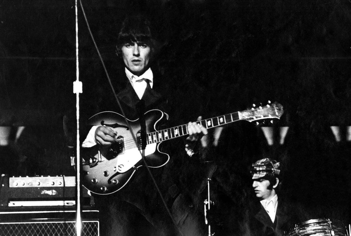 George Harrison at Busch Stadium