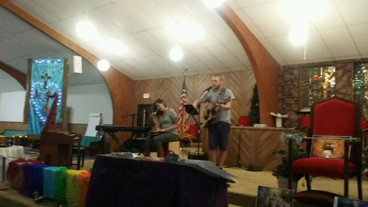 Worship during Eclipse 2017: Thunder In The Heartland