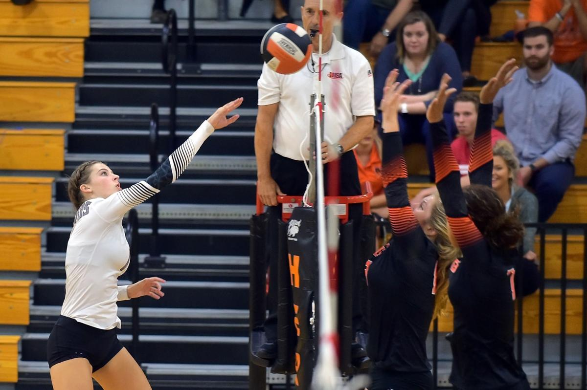 Prep Volleyball: Herrin Hosts Carbondale