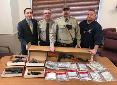 Union County officials applaud deputy who made big drug bust, seized