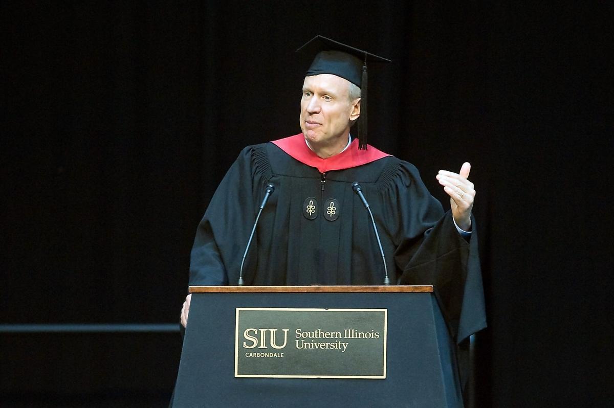 Gov. Rauner at SIU graduation