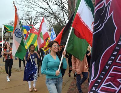 SIU International Flag Parade