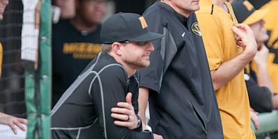 SIU baseball coach Lance Rhodes