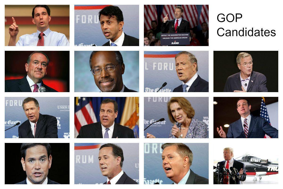 GOP Candidates second debate