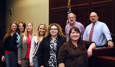 SIUC RESEARCH Law Students