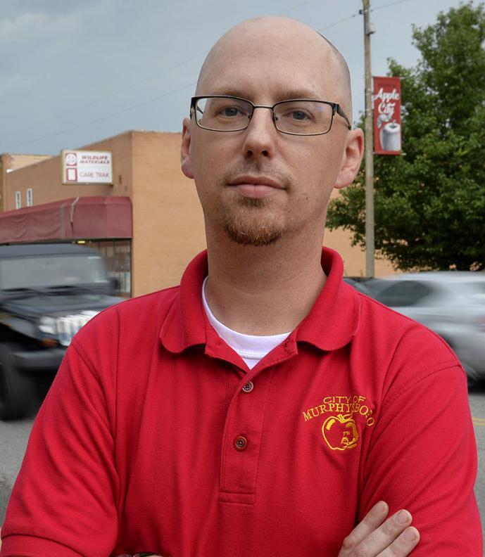 Murphysboro Mayor Will Stephens mugshot mug