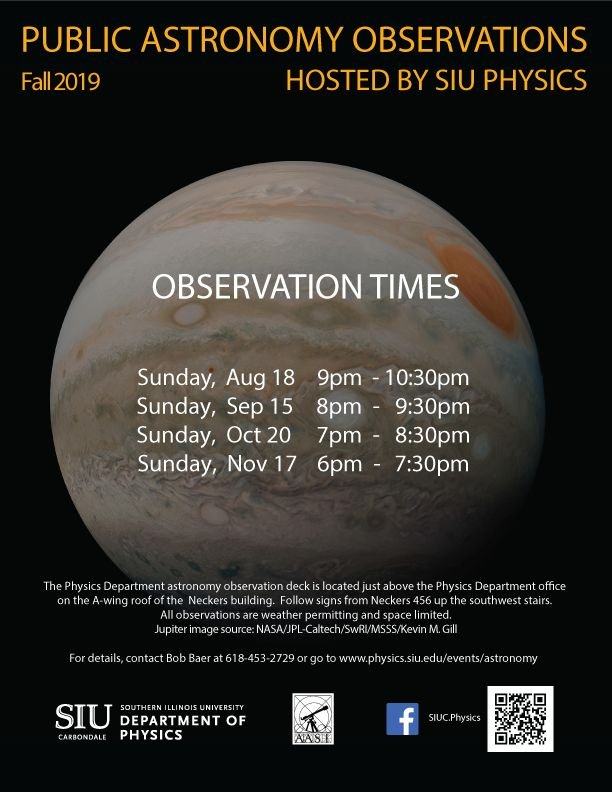 Astronomy Observations