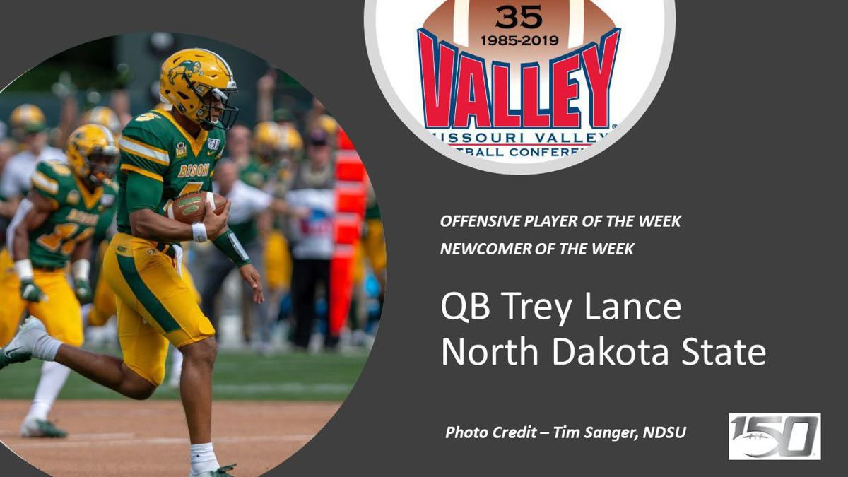 Lance, Brewer win Valley Football weekly honors