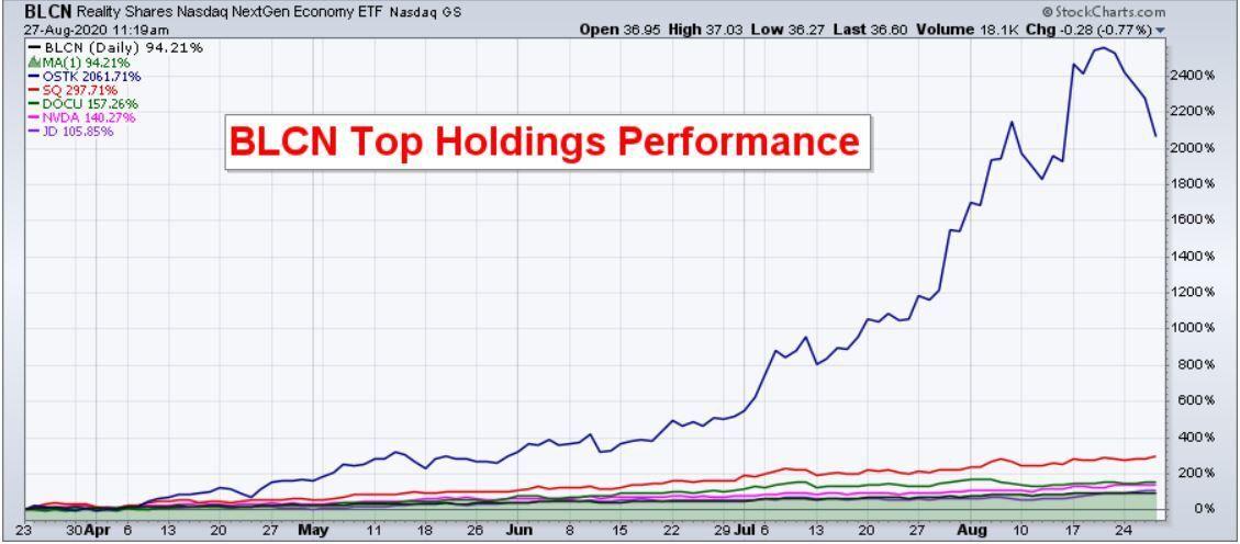 BLCN Holdings Perfomance