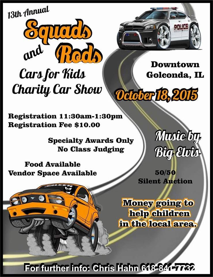 Squads and Rods coming to Golconda on Sunday